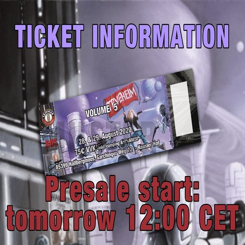 Vol. 5 - presale information